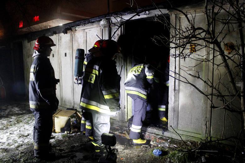 Tragiczny pożar komórek przy Kilińskiego w Łodzi
