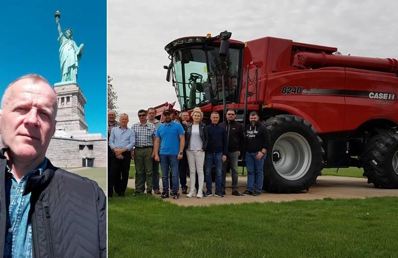 Strefa Agro. Dziś wybory do Świętokrzyskiej Izby Rolniczej. Rolnik Roku 2018 w USA i fabryce Case IH