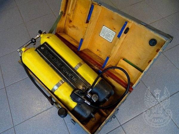 Aparat nurkowy P22/UAN-82Cena: 250 zł