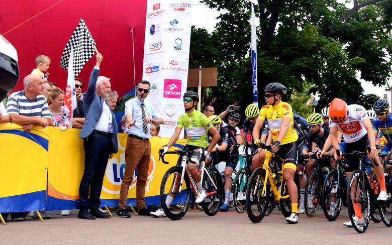 Wyścig Solidarności i Olimpijczyków w Tarnobrzegu: Start 5. etapu i zawody małych kolarzy [ZDJĘCIA]