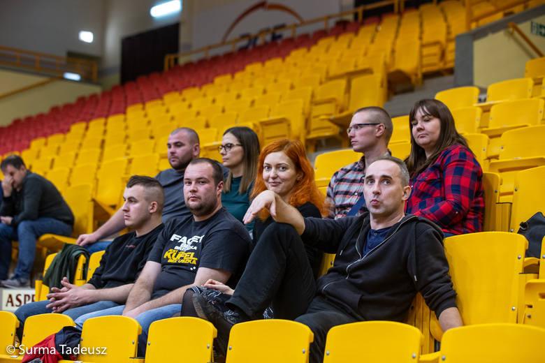 Siatkarki Spójni i Energetyka II Poznań grały w hali Ośrodka Sportu i Rekreacji w Stargardzie