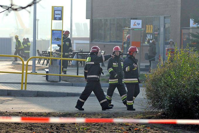 [zdjęcia] Gaz na dworcu