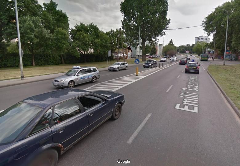 Autobus zderzył się z samochodem osobowym na ul. Sczanieckiej w Szczecinie