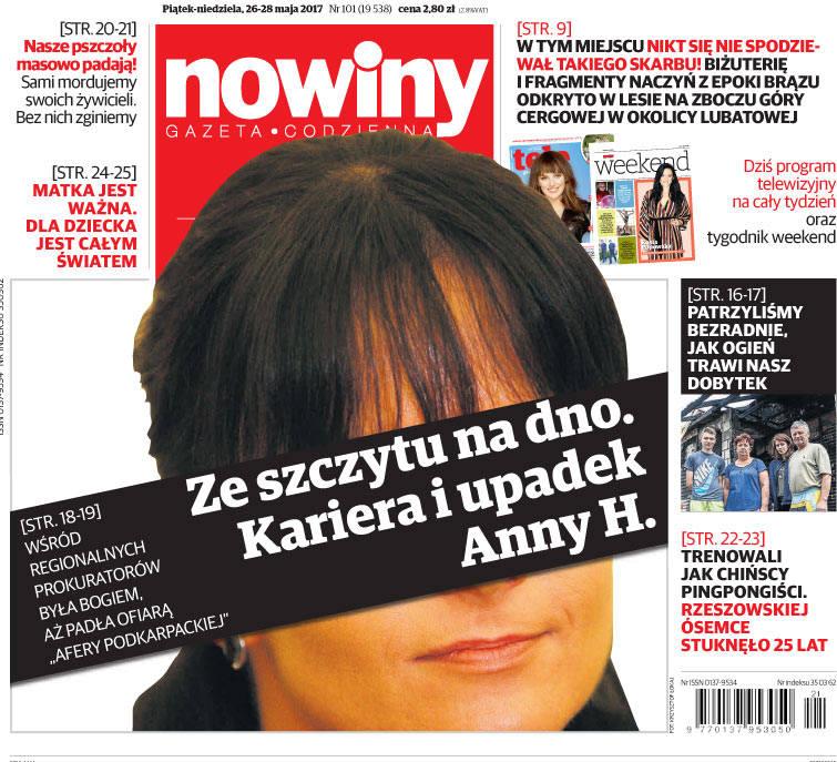 Anna H. przebywać będzie w areszcie do połowy października - zdecydował Sąd Rejonowy w Rzeszowie.