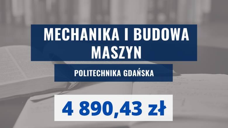 POLITECHNIKA GDAŃSKANiestacjonarne, Wydział Mechaniczny, II stopnia, 4-semestralne, profil ogólnoakademicki.Oto dobrze opłacane kierunki studiów w Gdańsku!