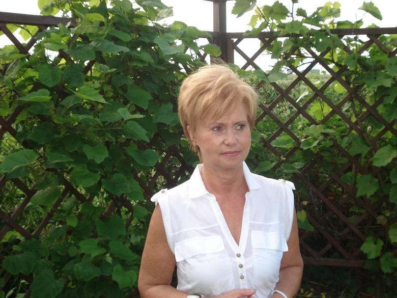 Krystyna Kroll-Chilomer – sołtyska Głuchowa, gmina Komorniki, powiat poznański