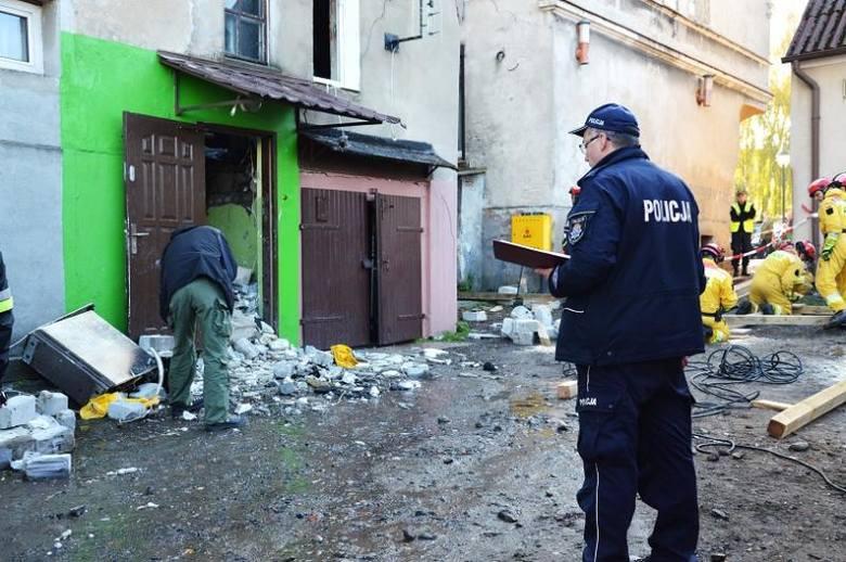 Pniewy: Wybuch uszkodził kamienicę