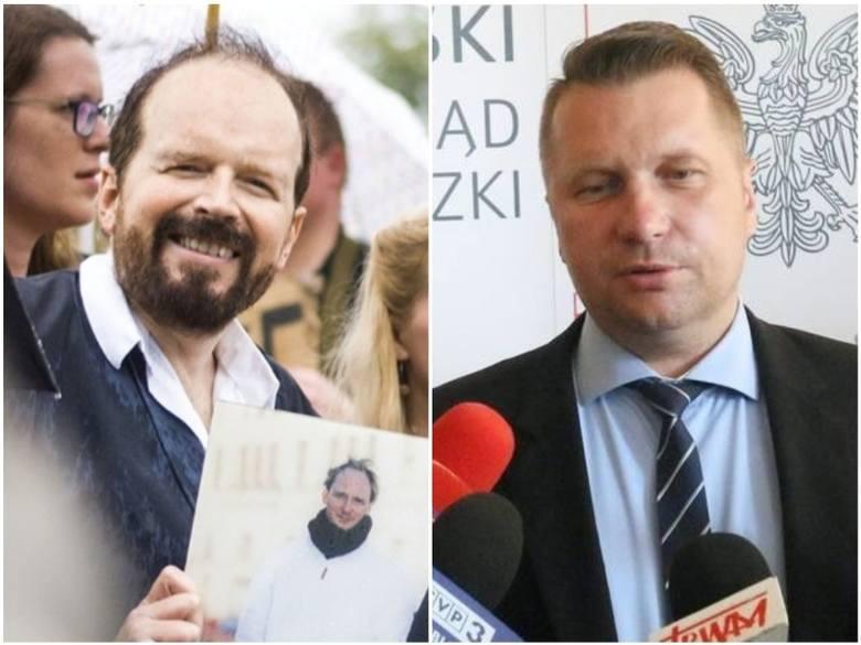 Prokuratura umorzyła postępowanie w sprawie zniesławienia Przemysława Czarnka. - Bardzo się cieszę - przyznaje Tomasz Kitliński
