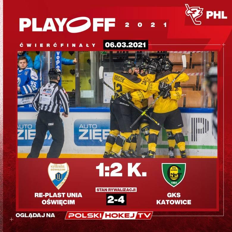 W czwartek rozpoczynają się półfinały Polskiej Hokej Ligi