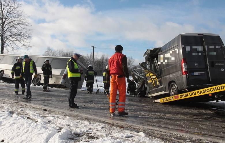 Śmiertelny wypadek w Parznicach koło Radomia.
