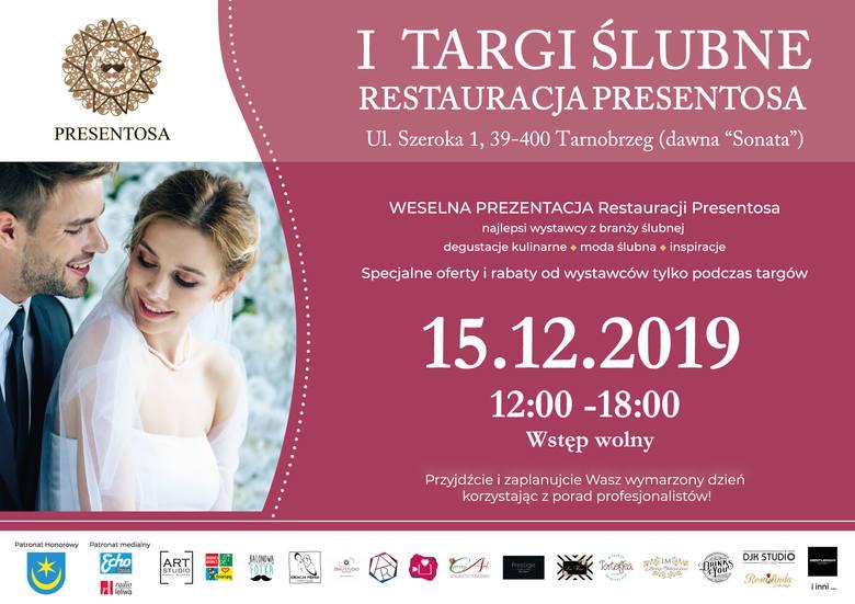 W niedzielę w Tarnobrzegu Targi Ślubne. Zaplanuj swój wymarzony dzień