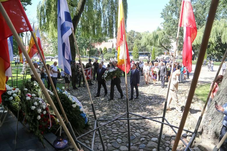 Rocznica Powstania w Getcie. Białystok upamiętnił powstańców (zdjęcia, wideo)