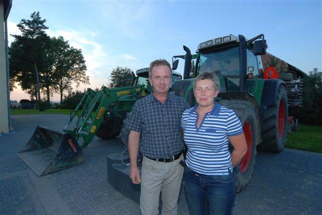 Magdalena i Krzysztof Kałuża z Łowkowic mają bezpieczne gospodarstwo.
