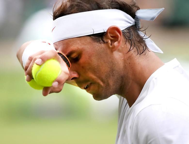 Wimbledon 2019. Nick Kyrgios - Rafael Nadal. Zobacz kontrowersyjne zagranie Kyrgiosa w meczu z Rafaelem Nadalem.