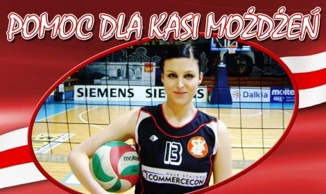 Katarzyna Możdżeń dziękuje na pomoc przyjaciół i fanów sportu