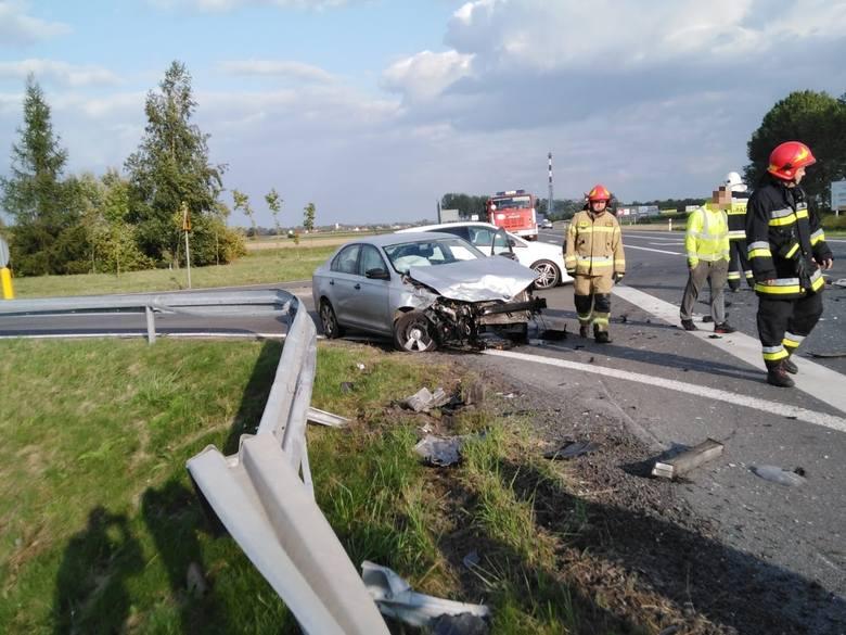 Do wypadku doszło na drodze krajowej nr 41, na obwodnicy Prudnika. Sytuacja miała miejsce we wtorek około godz. 16.40.Z ustaleń policji wynika, że kierowca