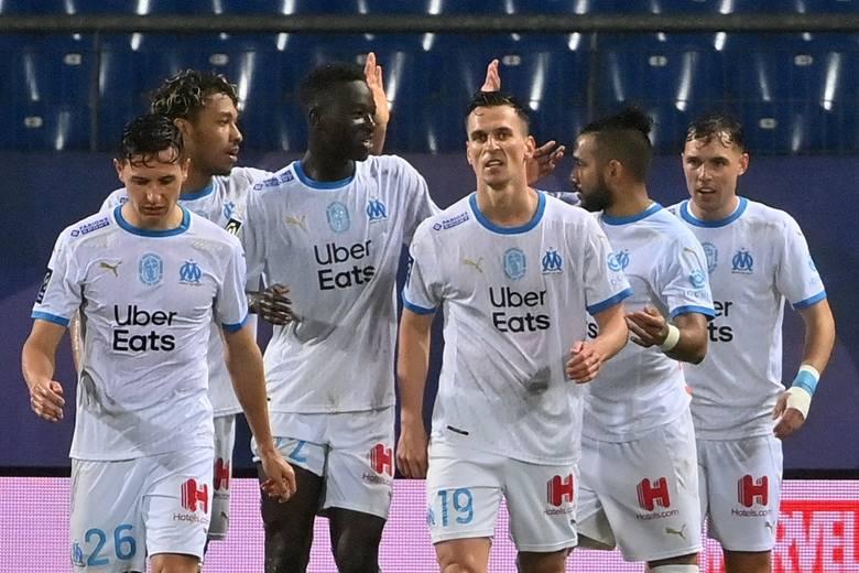Milik znów strzelił, Marsylia w dziesiątkę pokonała Montpellier