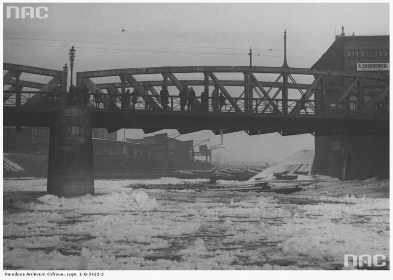 Most Chwaliszewski na Warcie - 1932 rok