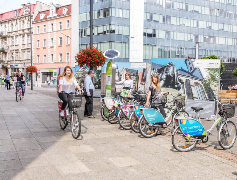 Rowery miejskie w Katowicach