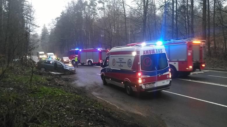 W poniedziałek po godz. 19 na ul. Gdańskiej w Koszalinie doszło do wypadku. Dachowała skoda fabia. Jak usłyszeliśmy od koszalińskich policjantów kierowca