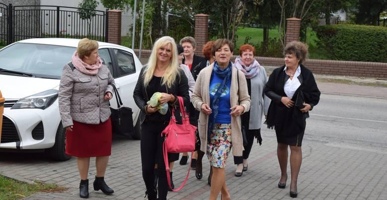 Na zdjęciu panie z Bodzanowa, gmina Dobre
