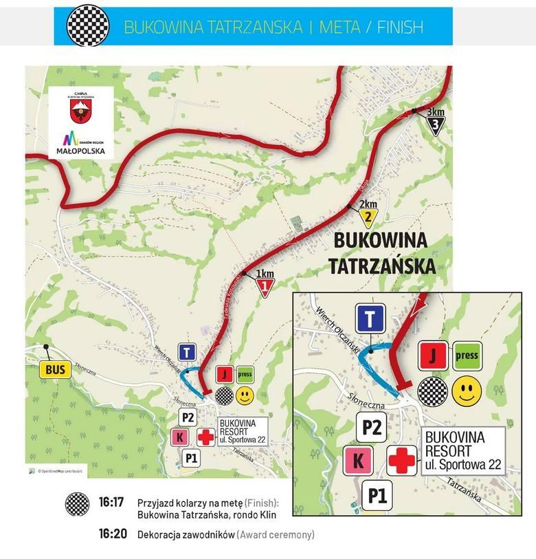 9 sierpnia kolarze wyruszą na trasę 7. etapu Tour de Pologne 2019, który rozegrany będzie w Bukowinie Tatrzańskiej oraz pobliskich miejscowościach.