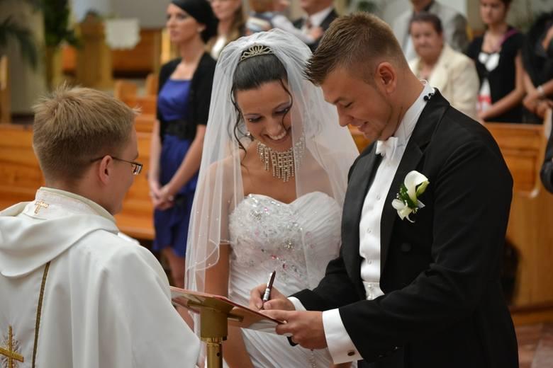 Agnieszka i Sebastian wzięli ślub przed kamerami