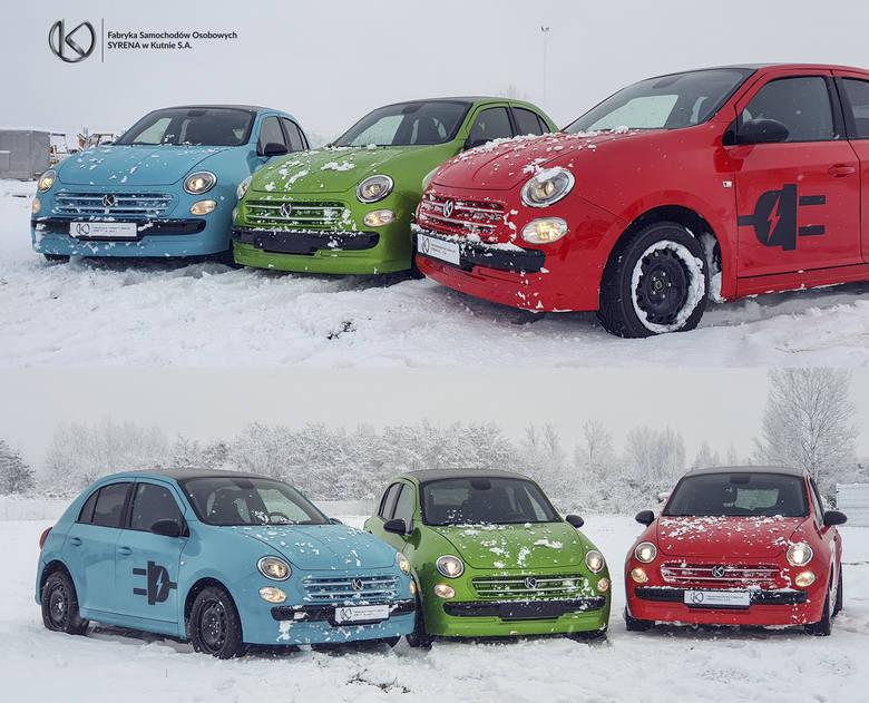"""Nowy FSO Polonez. Kultowy """"Poldek"""" całkowicie odmieniony! Zobacz!Nowa syrenka  Vosco S10 pierwszy polski samochód elektrycznyOd czasów"""