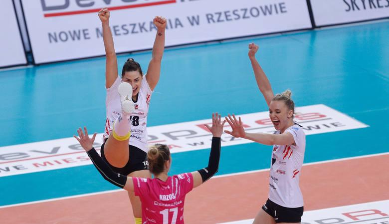 Developres Rzeszów pokonał w sobotę ŁKS Łódź 3:2.Czytaj więcej: Developres Rzeszów przegrywał 0:2, ale zdołał ograć ŁKS Łódź 3:2 [RELACJA]Zobacz też: