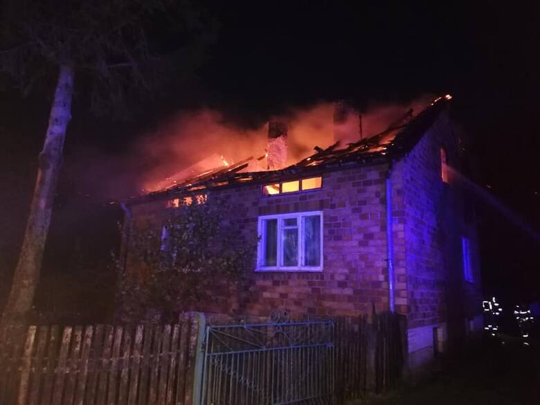 Do pożaru domu w Bagatelach doszło w czwartek, 7 października nad ranem.