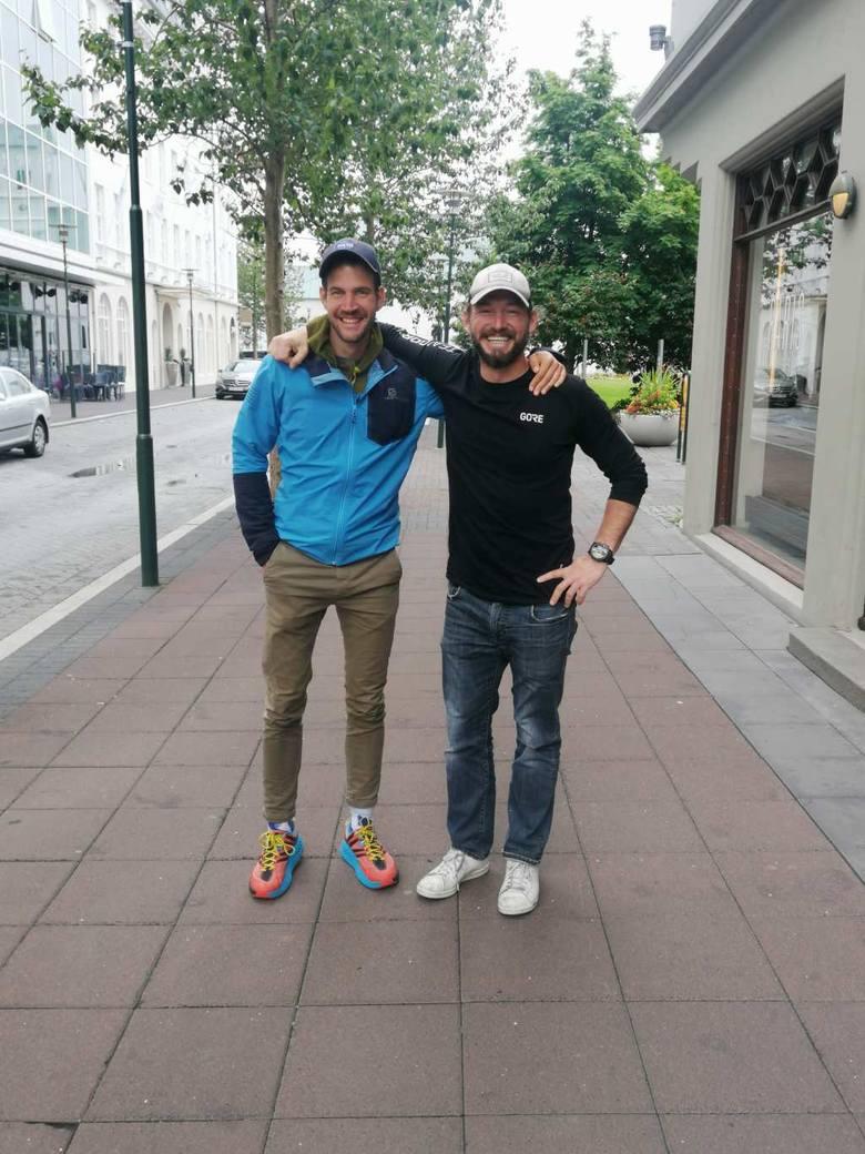 Dzień czwarty: przypadkowe spotkanie Jamiego Ramsaya, szkockiego biegacza nazywanego brytyjskim Forrestem Gumpem