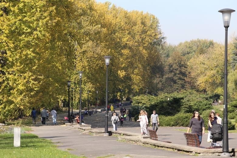 Park Śląski to zieleń i spokój - wiadomo - ale także doskonała architektura wybitnych twórców