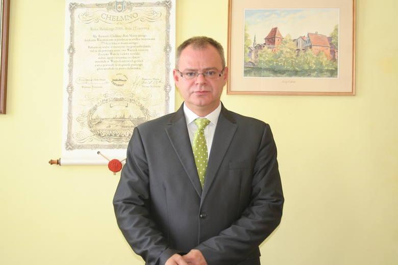Burmistrz Chełmna, Mariusz Kędzierski - Volvo S40 - 1996 rok.