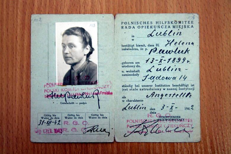 Helena Pawluk z domu Błeszyńska (1899-1994)