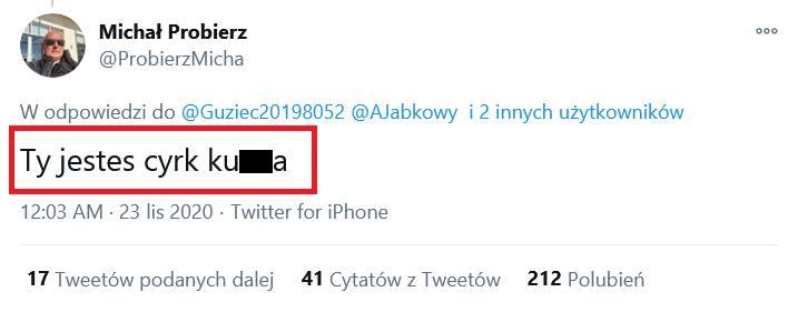 """Michał Probierz odleciał po meczu z Legią! """"Ty jesteś cyrk, ku**a"""" do kibica"""