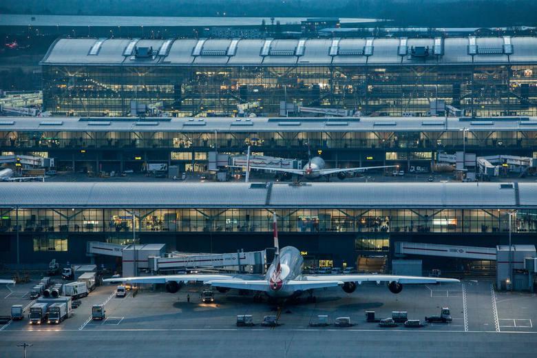 8. London Heathrow Airport. Jedno z pięciu lotnisk w Londynie