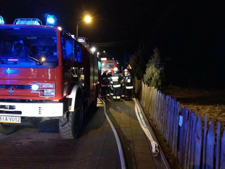 W środę, o godz. 20:04, strażacy z OSP Choroszcz zostali wysłani do pożaru w Klepaczach.