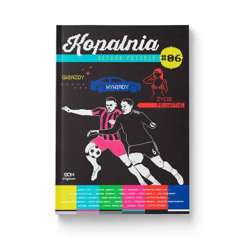 Kopalnia 6. Łapiński o Citce i inne niezwykłe opowieści ze świata futbolu [SPORTOWA PÓŁKA]
