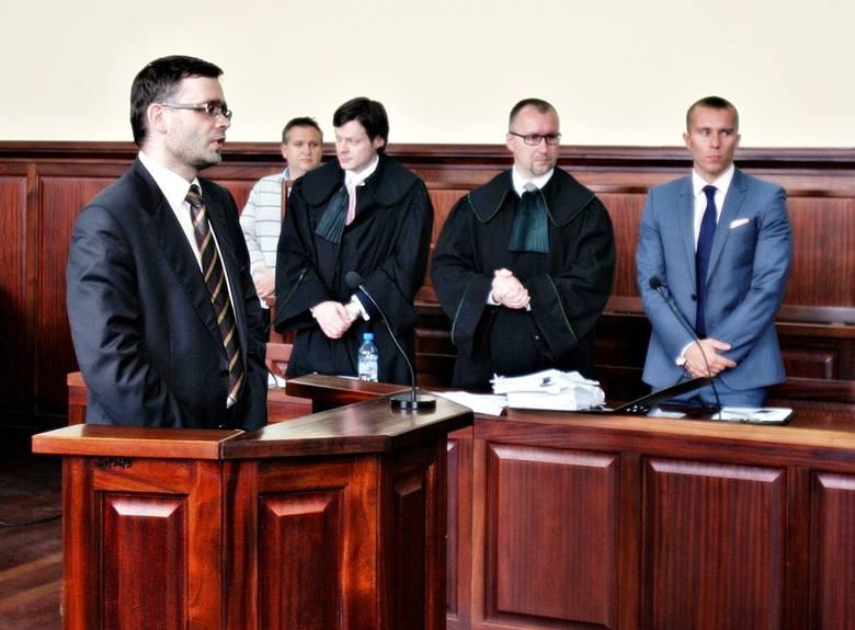 Zeznania w sądzie Pawła Czumy w sprawie Janicki kontra Dutkiewicz
