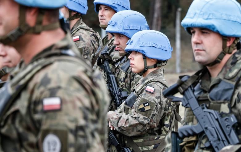 """""""Błękitne hełmy"""" ze Szczecina do Libanu. To wielki powrót na trudną misję"""