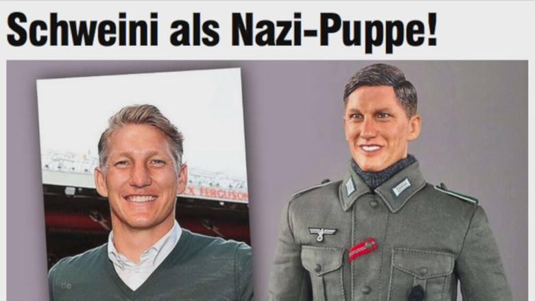 Bastian Schweinsteiger W Mundurze Wehrmachtu Chińskie Figurki