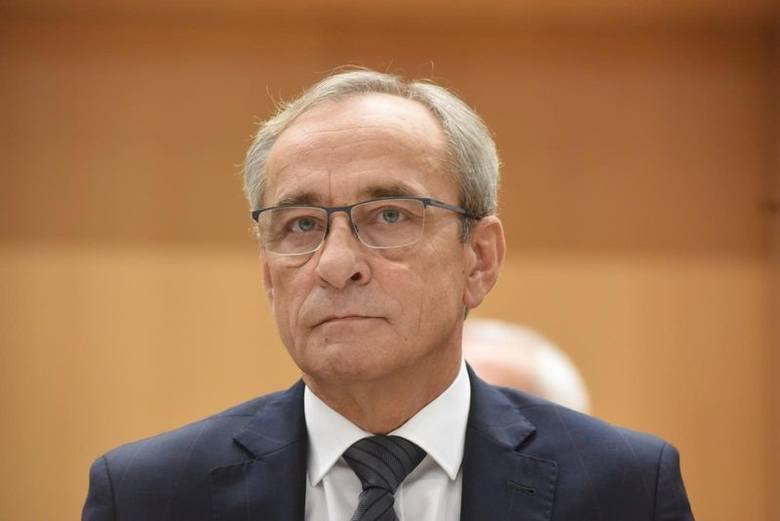 Radny Mirosław Marcinkiewicz z Gorzowa, z ramienia Koalicji Obywatelskiej, wiceprzewodniczący sejmiku lubuskiego