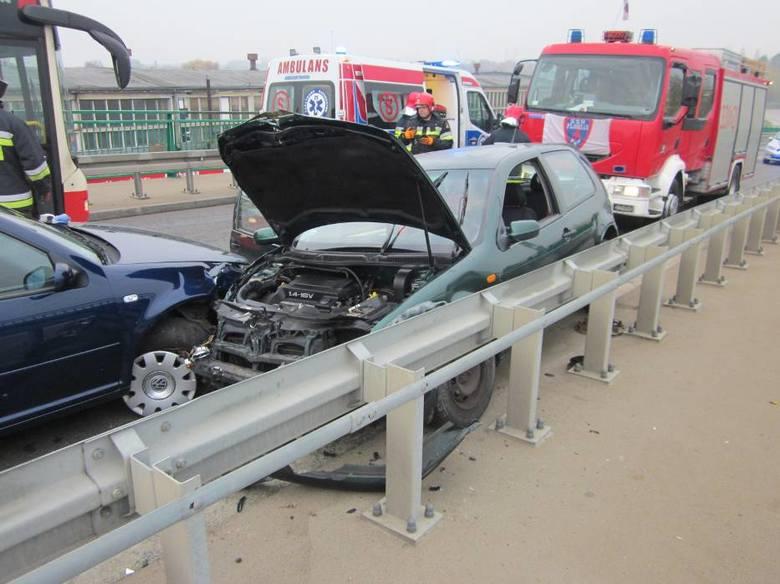 Zderzenie sześciu aut w Pruszczu Gdańskim. Jedna osoba reanimowana