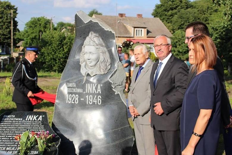 """W Krzeszycach trzy lata temu gmina postawiła pomnik... """"Inki"""". Kata i ofiarę dzieli jakieś 10 km"""