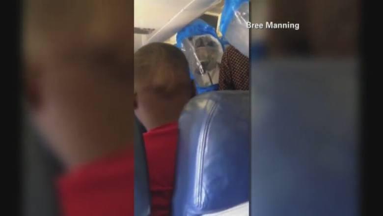 Zażartował w samolocie, że ma ebolę. Interweniowały służby medyczne [wideo]