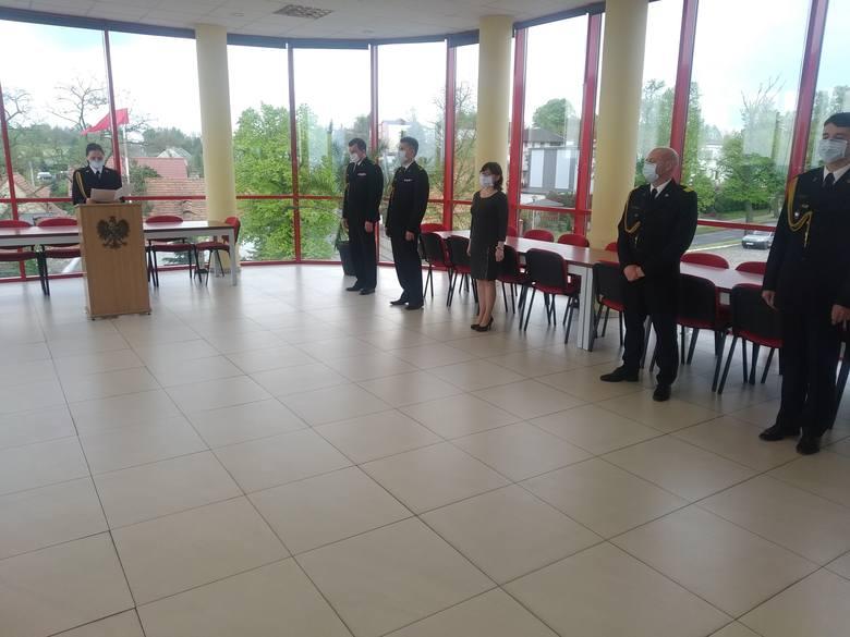 Chełmińscy strażacy otrzymali nagrody, awanse i wyróżnienia