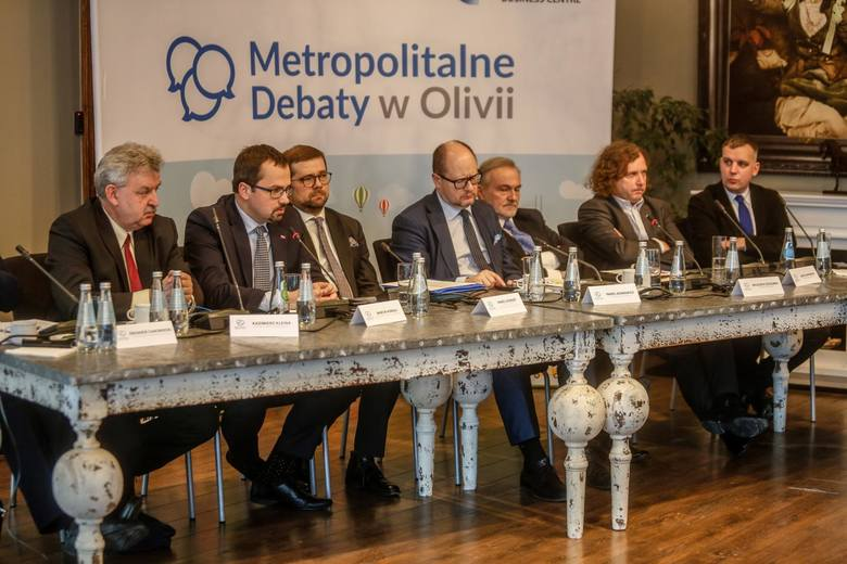Pierwsza debata z serii Metropolitalne Debaty w Olivii. 22.01.2018