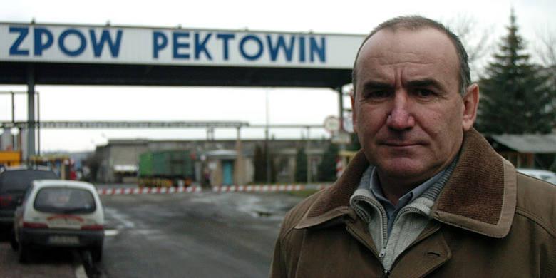 Antoni Wiśniowski, przewodniczący ZZ pracowników ZPOW Pektowin: - Jest mała nadzieja na poprawę sytuacji, bo euro poszło w górę, a my sprzedajemy głównie