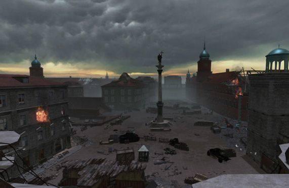 Army RageZniszczona Warszawa w grze Army RAge