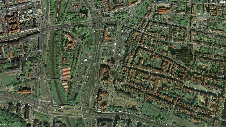 Forum Gdańsk i centrum Gdańska 2008